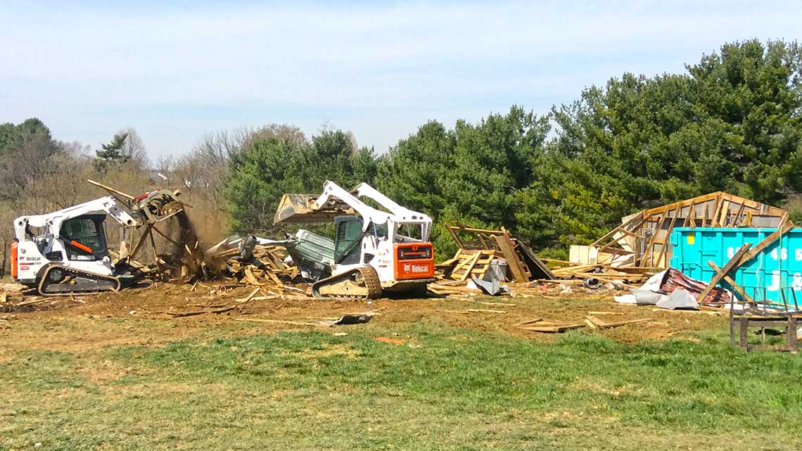 Demolition and site clearing