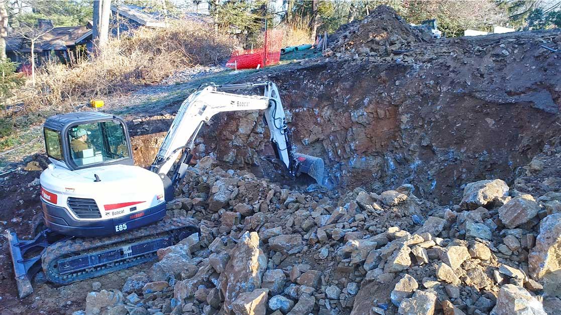 Rocky site preparation in Nashville TN