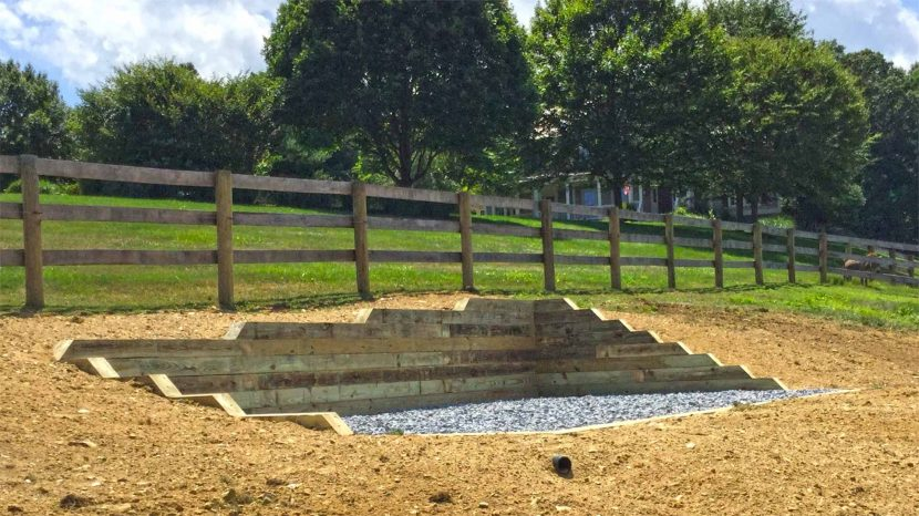 Retaining walls and barriers