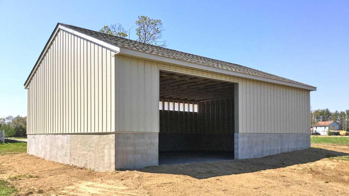 Horse Barn Woolrich Township NJ