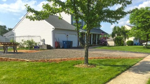 Driveway extension Collegeville PA