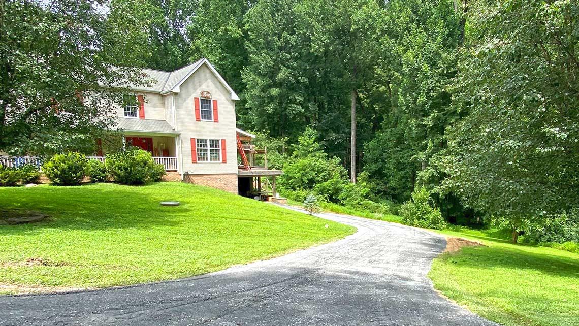 Gravel driveway Baldwin, MD